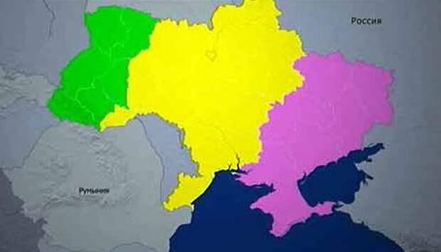 Марков: Украина распадётся на три части. Участь Незалежной решил результат выборов