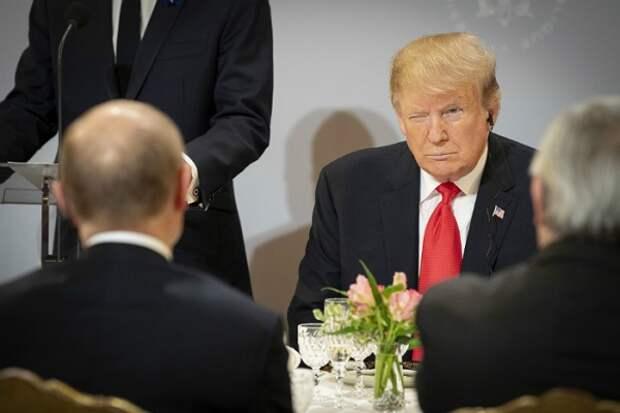 Дональд Трамп, Владимир Путин(2018)|Фото:epa/vostock-photo
