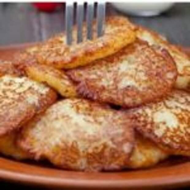 Драники из картофеля без муки