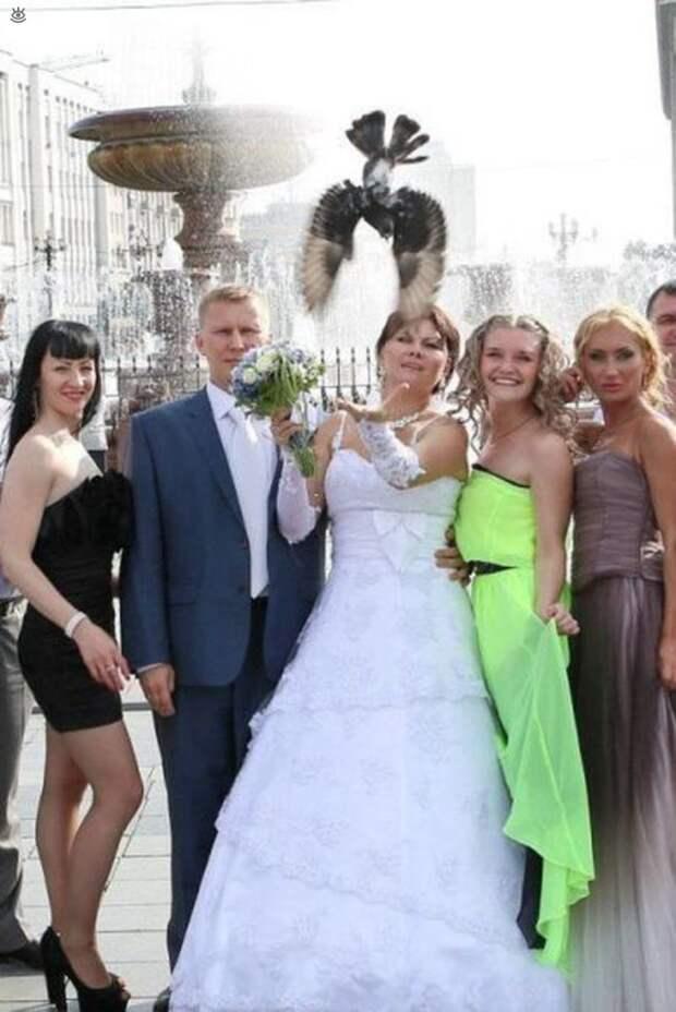 Прикольные свадебные торжества 34