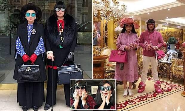 На одной волне: мать и сын из Таиланда надевают одинаковые наряды