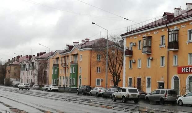 ВНовотроицке наулице Советской дома получили обновленные фасады
