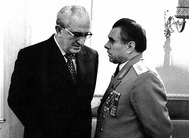 Как глава МВД Щелоков пытался арестовать Андропова