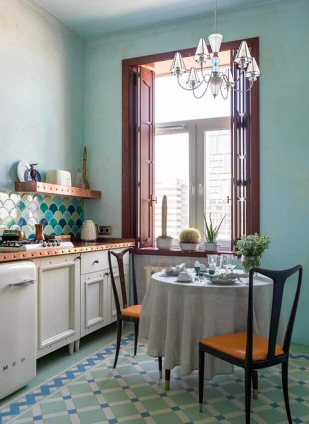 Фотоохота: Кухня в «сталинке» — от 6 до 10 кв.м