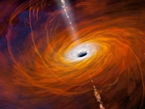 Можно ли вытащить что-то из черной дыры?