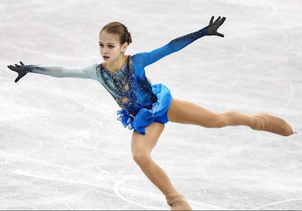 Плющенко против Тутберидзе: первый бой на льду.Трусова после короткой программы уступала Валиевой 10 баллов, но не сдалась