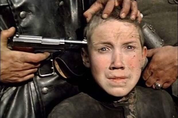 Алексей Кравченко в фильме «Иди и смотри», 1985 год.