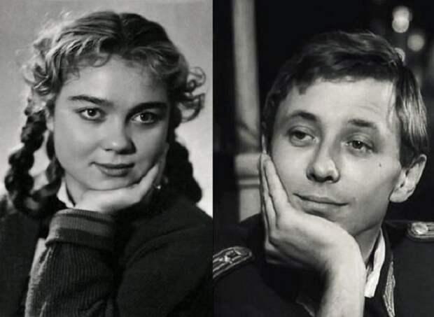Олег Даль и Нина Дорошина.