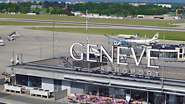 Международный аэропорт Женевы начал подготовку к встрече Путина и Байдена