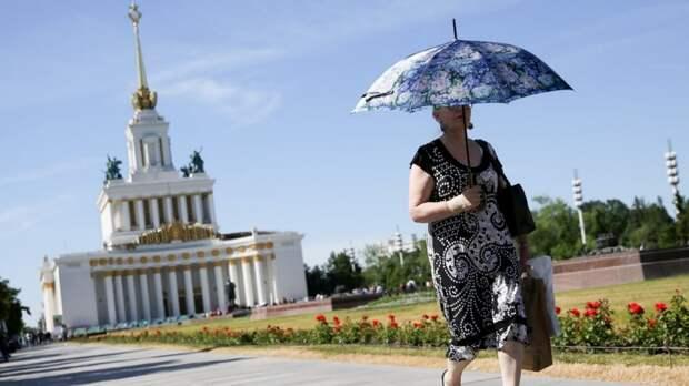В Москве 18 мая ожидаются жара и порывистый ветер