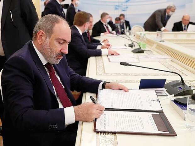 Пашинян предложил вариант разграничения территорий Армении и Азербайджана