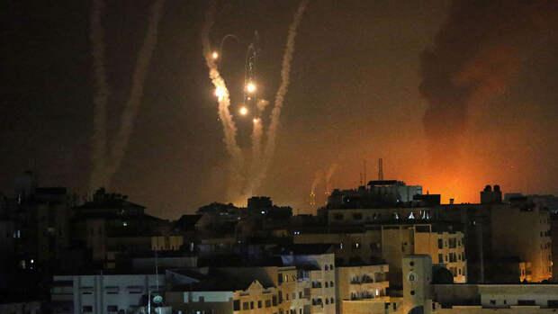 ХАМАС запустило свыше 100 ракет в направлении Ашкелона и Ашдода