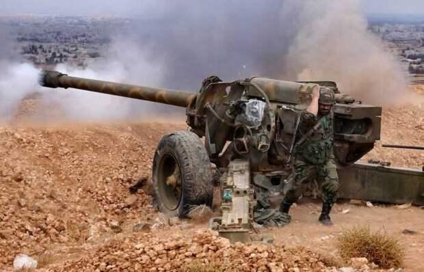 Появилось видео применения в Сирии российских «Краснополей» с лазерным наведением