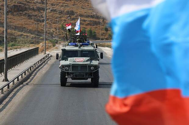 Турки не успели сюда добраться и поэтому после ухода американцев их зона ответственности досталась россиянам, которые ежедневно выезжают на патрулирование