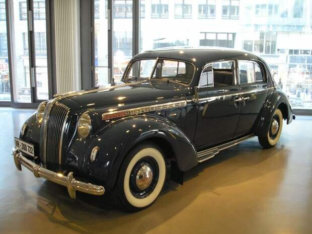 Эволюция немецких автомобилей люкс/премиум класса авто, история, фото, эволюция