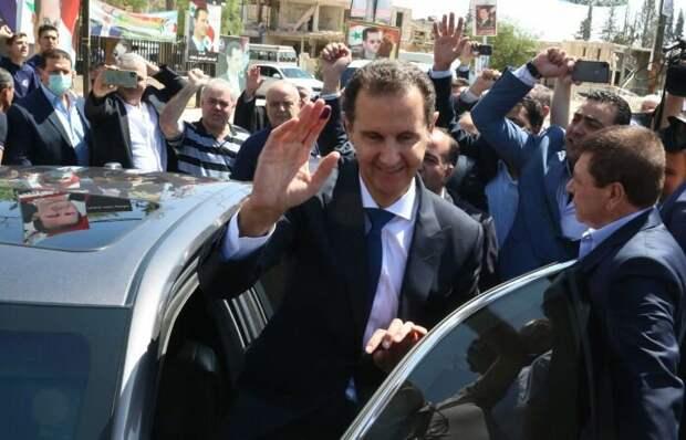 Асад снова президент Сирии