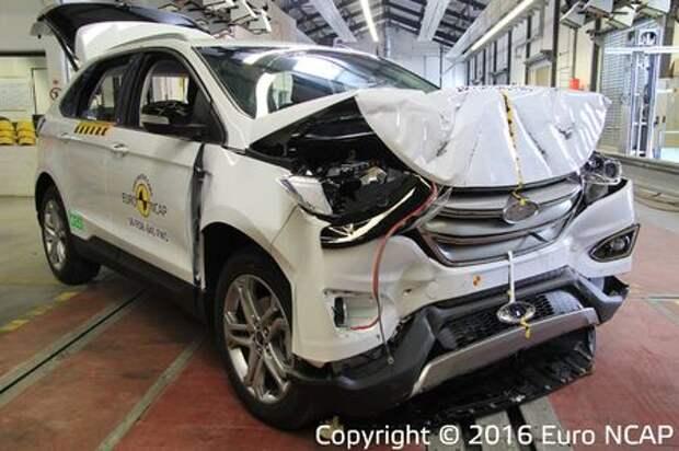 Euro NCAP – последние тесты года: звезды налегают на красное