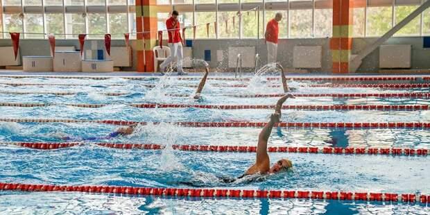 Семья из Лосинки победила в окружных соревнованиях по плаванию