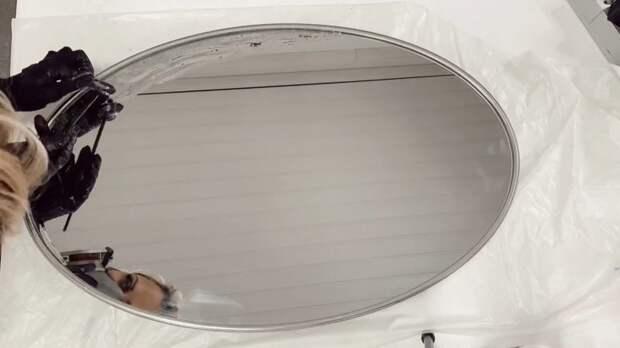 Самое банальное зеркало легко превратить в дорогостоящее