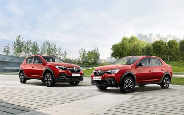 Renault Logan и Sandero получили вариатор