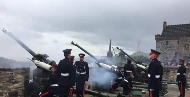 Оружейный салют дали в Великобритании в память о принце Филиппе