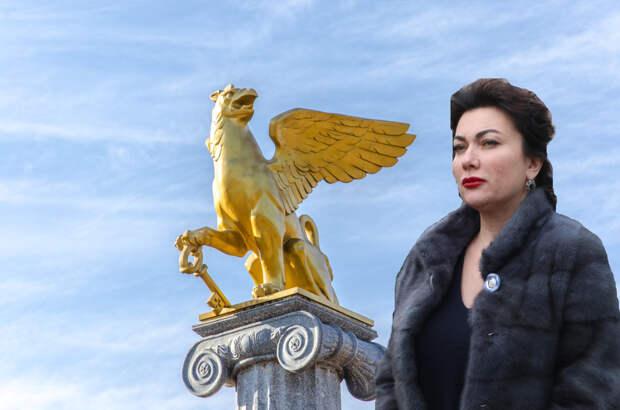 Молодежь Керчи потребовала у Новосельской извиниться за орлольва