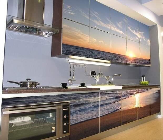 Какая прекрасная идея для кухни! А Вам нравится?