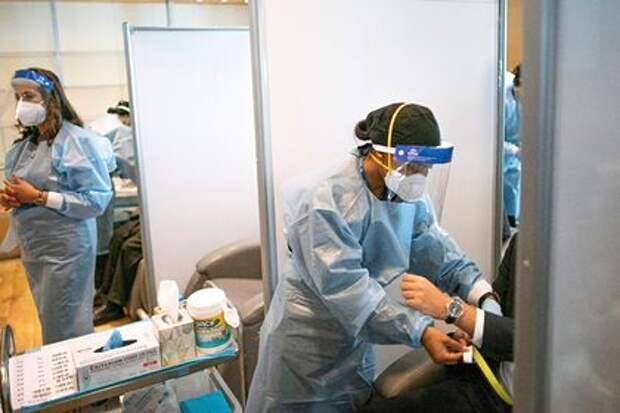 В США зафиксировано резкое увеличение числа заразившихся COVID-19