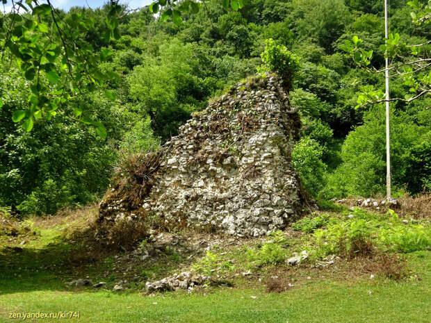 Восточная Абхазия. Пещера Абрскила. Вторая часть пути