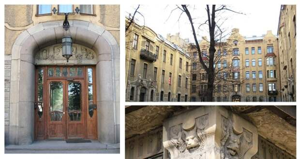 Какие тайны хранит самый помпезный доходный дом для элиты, построенный 100 лет назад в Петербурге