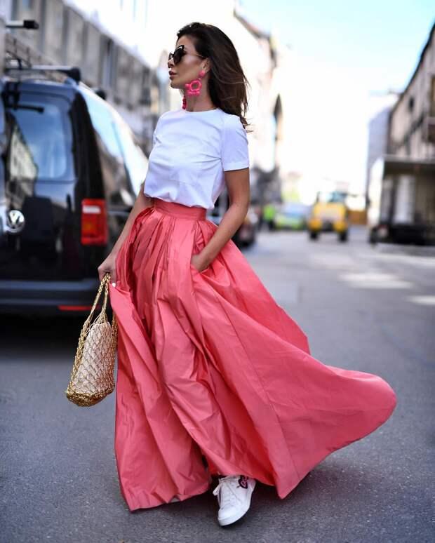 С чем носить юбку летом фото 6