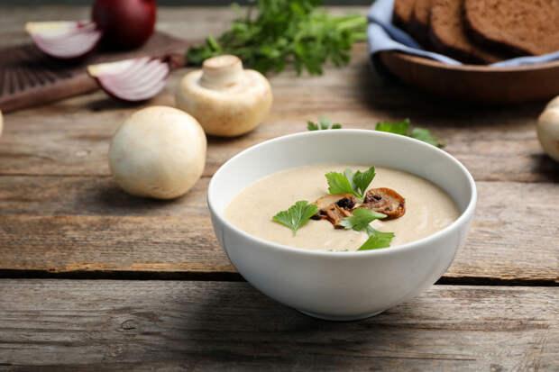 Готовим грибной крем-суп