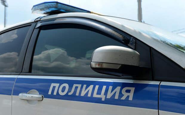 Пьяный водитель протаранил машину ДПС в Москве