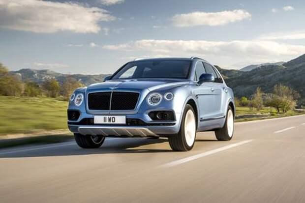 С дизелем дешевле: Bentley Bentayga «сбросил» 4 млн рублей