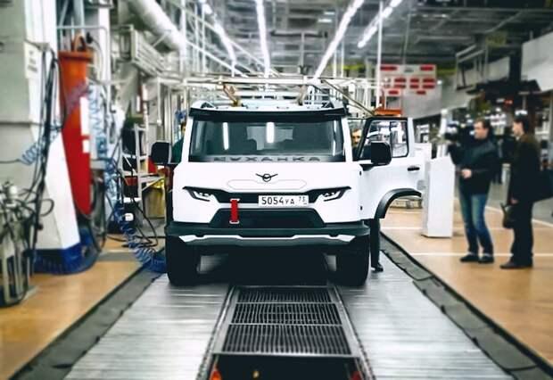 Представлен новый дизайн УАЗ-452 «Буханка»
