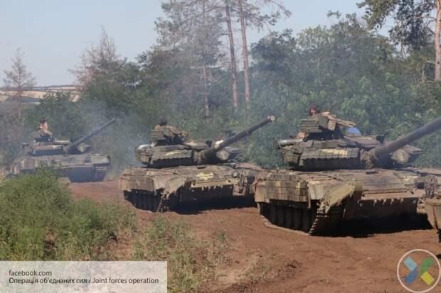 Украина начала военные учения «Rapid Trident-2021»