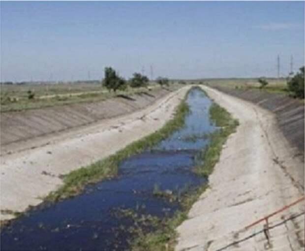 Председатель Верховной Рады Украины допускает возможность подачи воды в Крым