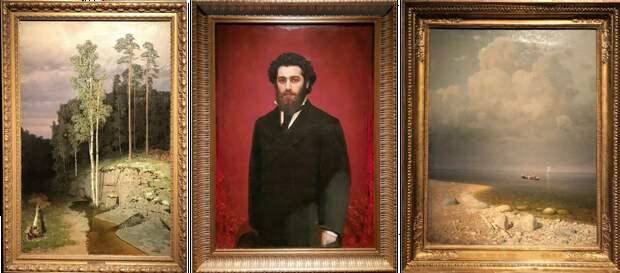 Выставка картин Архипа Куинджи, ч.1