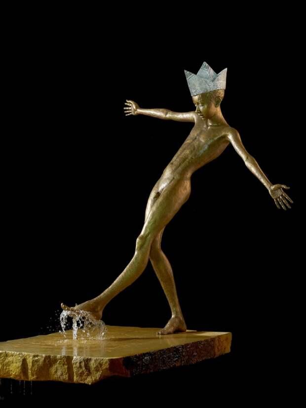 Скульптуры-фонтаны. Malgorzata Chodakowska