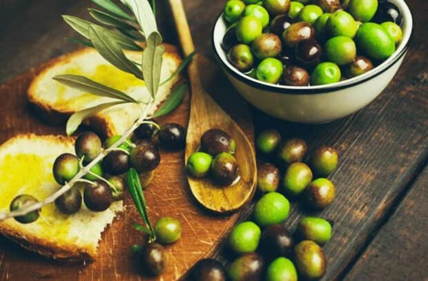 Эффекты потребления зеленых оливок