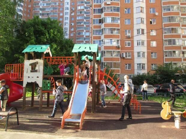 Детская площадка. Фото: архив редакции