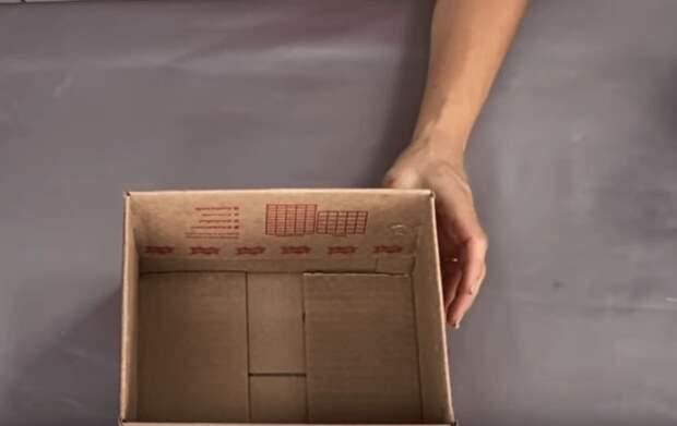 Действительно невероятно: великолепная идея из обычной коробки