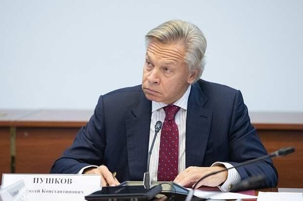 Пушков объяснил арест Медведчука борьбой Зеленского за рейтинг