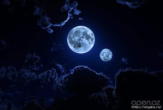 Две луны на небе: что это за явление и когда оно происходит?