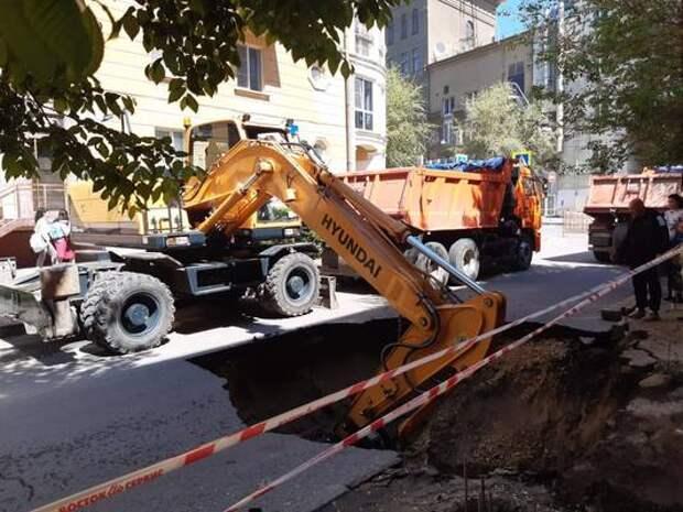 Концессии завершают восстановительные работы на ул. Мира