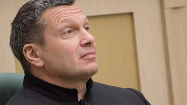 Соловьёв разнёс украинского эксперта из-за слов о важности Киева для РФ