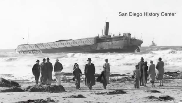 Шторм открыл обломки судна, где уже 80 лет может таиться баснословный клад
