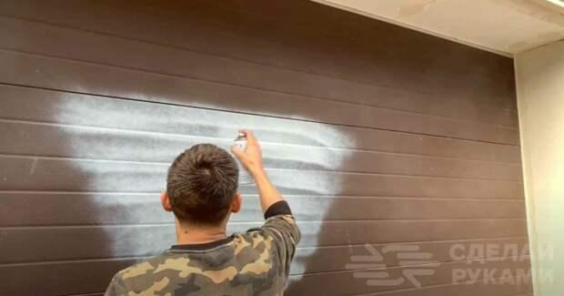 Как сделать имитацию текстуры дерева, используя краску