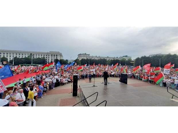 Белорусское пробуждение: Гаврош в Могилёве, боевики блокированы