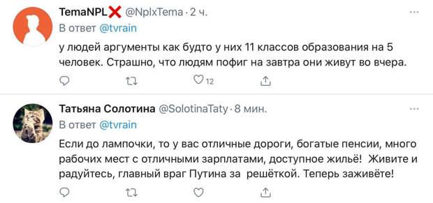 Жителей Покрова, где будет отбывать свой срок Навальный, назвали «убогими людьми из 90-х» за равнодушие к судьбе политика